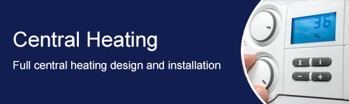 central heating full installation banner